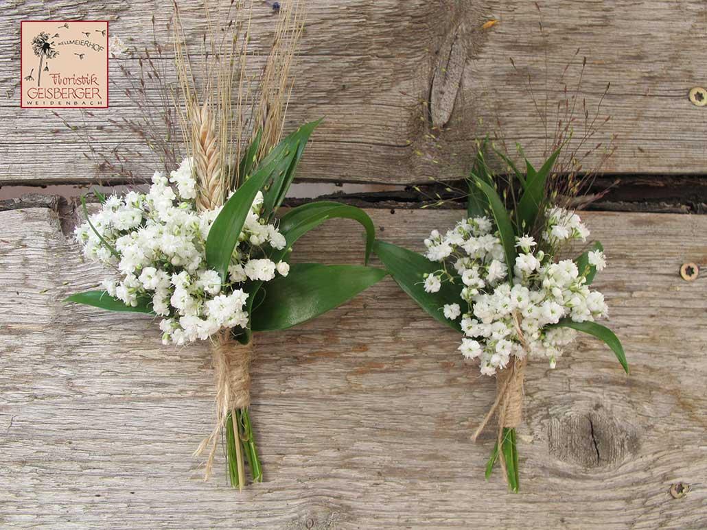 Hochzeitsblumen Mit Getreide Floristik Geisberger Floristik Geisberger